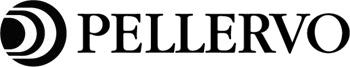Pellervon mustavalkoinen logo