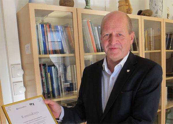 Lounais-Suomen Osuuspankki palkittiin