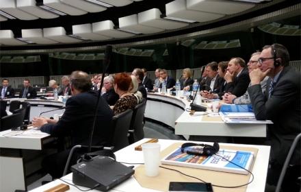 Pellervon valtuuskunta Brysselissä