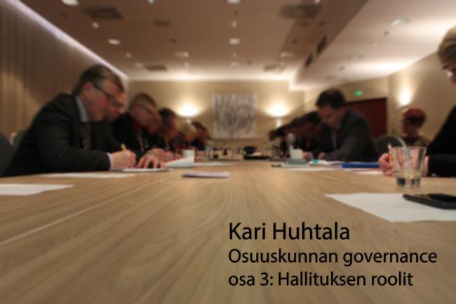 Karilta irti – Osuuskunnan governance, osa 3: Hallituksen roolit
