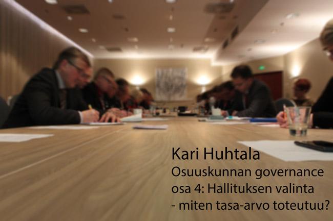 Osuuskunnan governance, osa 4: Hallituksen valinta – miten tasa-arvo toteutuu?