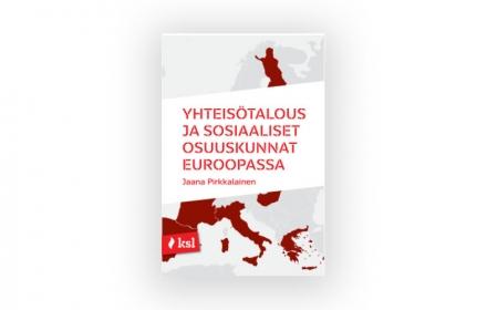 Yhteisötalous ja sosiaaliset osuuskunnat Euroopassa nyt painettuna julkaisuna