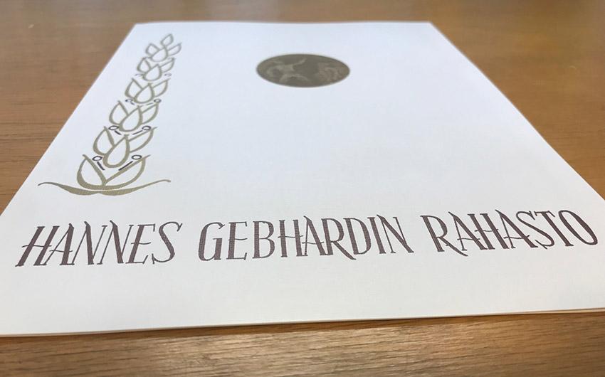 Hannes Gebhardin rahasto myönsi apurahoja