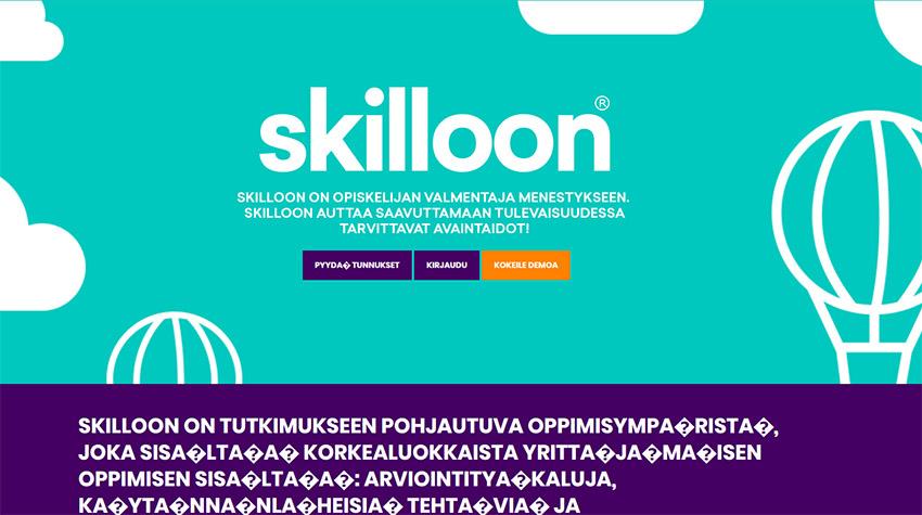 SKILLOON-kisasta tsemppiä yrittäjämäisyyteen!