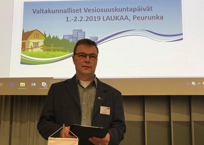Suomen 1300 vesiosuuskunnalla keskeinen rooli haja-alueiden vesihuollossa