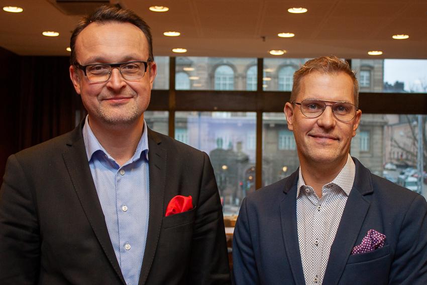 Stefan Saaristo ja Perttu Puro Osuustoimintakeskus Pellervon hallitukseen