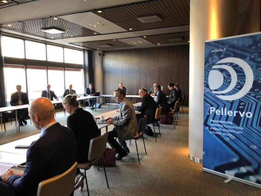 Vuosikokous pidettiin Helsingissä, mutta valtaosaosanottajista oli etänä.