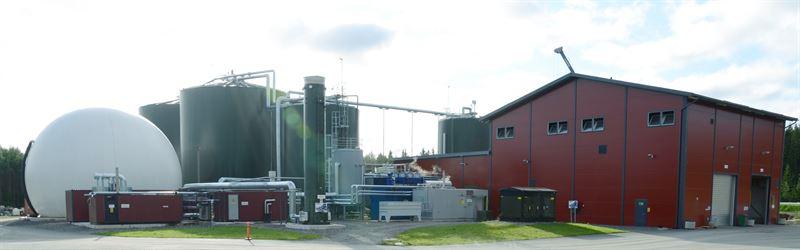 Kuvassa Gasumin Huittisten biokaasulaitos