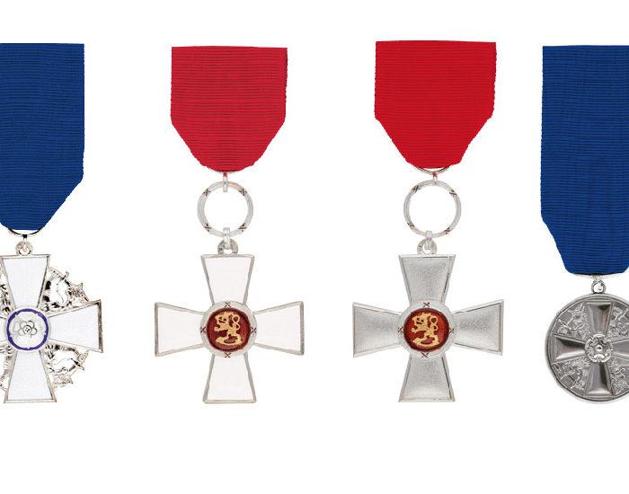 Pellervon työyhteisöön useita itsenäisyyspäivän tunnustuksia