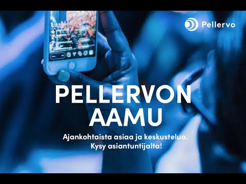 S-ryhmän Matti Pikkarainen ja Metsä Groupin Jussi Linnaranta keskustelivat Pellervon Aamussa puheenjohtajuudesta