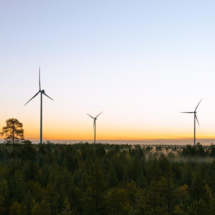 S-ryhmän suurin tuuli-investointi pystytysvaiheessa Simossa