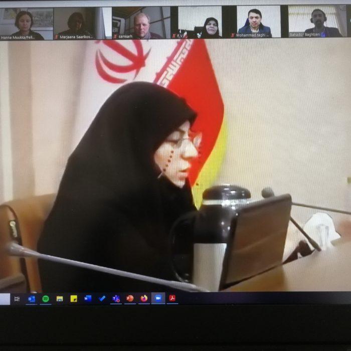 Pellervo ja Iranin osuustoimintajärjestö ICC keskustelivat maiden osuustoiminnasta