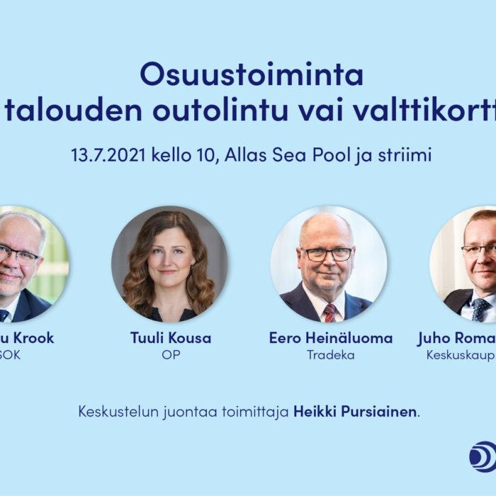 SuomiAreena: Osuustoiminta – talouden outolintu vai valttikortti?